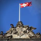 dostępne Denmark flagi okulary stylu wektora Fotografia Royalty Free