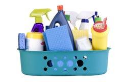dostaw środków czyszczących Obrazy Stock