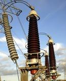 dostaw energii elektrycznej Obraz Stock