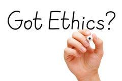 Dostawać etyki Czarny markier obrazy royalty free