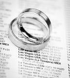 Dostawać poślubiający przy Las Vegas Zdjęcie Stock