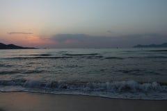 Dostawać przygotowywający wschód słońca Obraz Royalty Free