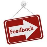 Dostawać informacje zwrotne dla twój biznesu Zdjęcie Royalty Free