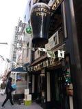 Dostawa, Irlandzki pub, NYC, NY, usa obrazy stock