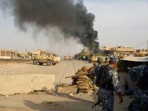 Dostawać Mortared Bagdad Irak 07 Zdjęcia Royalty Free