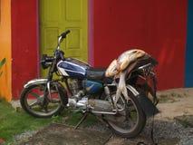 Dostawa ryba na motocyklu Obraz Stock