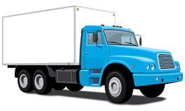 Dostawy ciężarówka royalty ilustracja