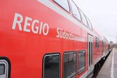Dostbayernbahn do ¼ de REGIO SÃ Foto de Stock Royalty Free
