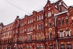 Dostoevskogo gata Royaltyfri Fotografi