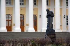 dostoevsky памятник f m к стоковое фото