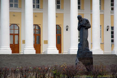 dostoevsky f m纪念碑 库存照片