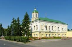 dostoevsky museum omsk russia för f M Royaltyfri Bild