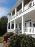 Dostojny dom w Southport, NC zdjęcia royalty free