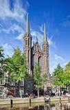 Dostojny, Gocki Krijtberg kościół, Amsterdam, holandie fotografia royalty free