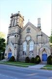 Dostojny miasto kościół fotografia royalty free