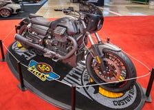 Dostosowywający Moto Guzzi Kalifornia Obrazy Royalty Free