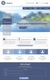 dostępna oba eps8 formatów jpeg szablonu strona internetowa Obraz Stock