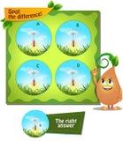 Dostrzega różnicy mrówki Obraz Stock