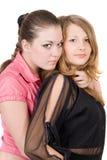 dosyć dwa kobiety młodej obrazy stock