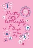 Dosyć mały motyl Fotografia Royalty Free