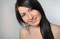 Dosyć Uśmiechać się dziewczyny Obraz Stock