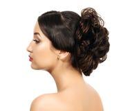 Dosyć z galonowym włosy Zdjęcie Stock