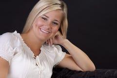 dosyć blond dziewczyna Fotografia Royalty Free