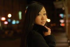 dosyć dziewczyna azjatykci portret zdjęcia royalty free