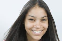 dosyć nastoletni dziewczyna portret Zdjęcie Stock