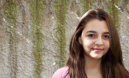 Dosyć nastoletni dziewczyna portret obraz stock