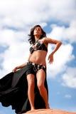 dosyć seksowny bellydancer taniec Obrazy Royalty Free