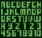 Dot alphabet Stock Image