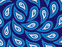 Dot Art Water. Illustration of stylized water in native aboriginal style Stock Photo