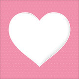 Dot background Pink Stock Photography