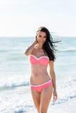 dot bikini polka różowego Fotografia Royalty Free