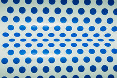 Dot blue  paper Royalty Free Stock Image
