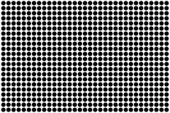 Dot circle pattern background design illustration vector.  Royalty Free Stock Image