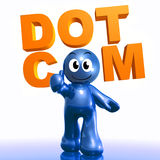 Dot com business recommendation icon Stock Photo