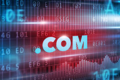 Dot com concept Royalty Free Stock Images