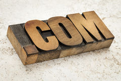 Dot com internet domain Royalty Free Stock Images
