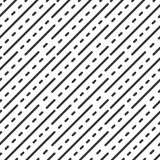 Dot dashed line. Geometric seamless pattern. Dot dashed line. Geometric seamless pattern in line style. Vector illustration for minimalistic design. Abstract stock illustration