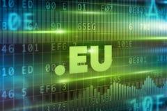 Dot eu concept Stock Image