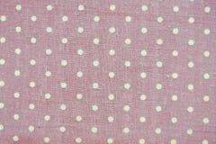 Dot. Fabric cotton royalty free stock photo