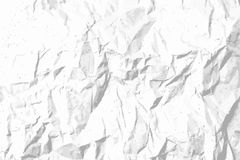 Crumpled paper texture vector template for overlay Royalty Free Stock Photo