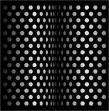 Dot halftone retro design Stock Image