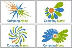 Dot logos Royalty Free Stock Image