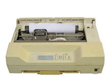 Dot matrix printer stock photo