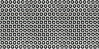 Dot Metal Plate - fond sans couture Image libre de droits