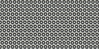 Dot Metal Plate - Seamless Background Royalty Free Stock Image