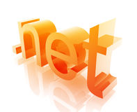 Dot net internet Stock Image